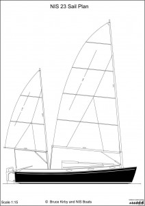 NIS 23 Sail Plan